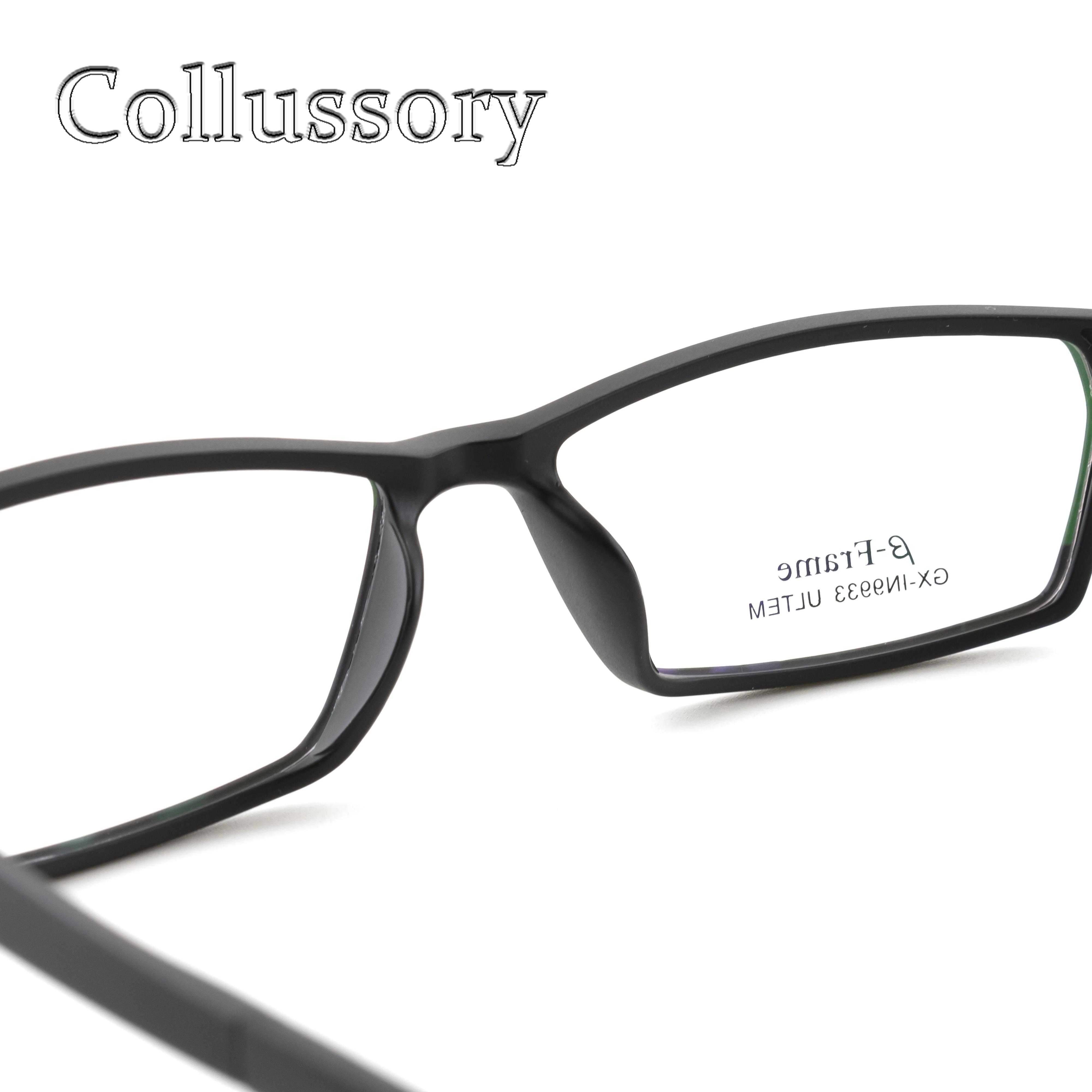 a311dda72eb8 Men Eyeglasses Frame Ultem Tungsten Optical Eyewear Sport Style Prescription  Reading Computer Goggles Flexible Light Top quality-in Eyewear Frames from  ...