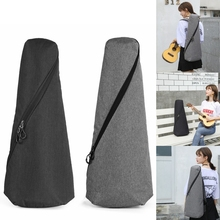 21 / 23 Inch Universal Concise Style Ukulele Bags 10mm Cotton Soft Case Gig Nylon Cloth Backpack