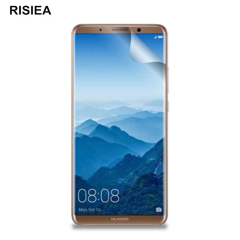 4pcs Clear glossy Screen Protector Protective Film For Huawei Mate 20 20X 8 9 Pro 10 pro lite P30