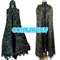 Sword Art Online SAO GGO Sterben Death Gun Camouflage Cosplay Costume Mens Cloak Outfit