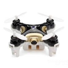 Haute Quqlity Cheerson CX-10C Mini 2.4G 4CH 6 Axes LED RC Quadcopter avec Caméra RTF Noir En Gros Livraison Gratuite