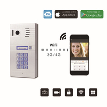 Wireless Wifi Remote Control IP Video font b Door b font Phones Wireless IP Intercom System