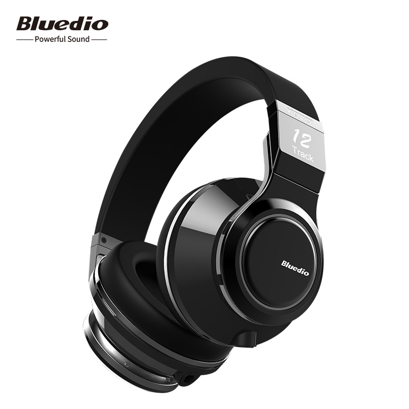 все цены на Bluedio V (victory) High-end Wireless Bluetooth Headphones PPS12 Drivers Smart Touch Design Over-ear headsets with microphones онлайн