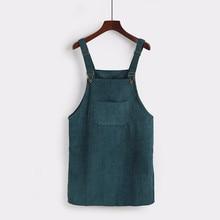 Meitawilltion Summer Women Skirts 2019 Casual Corduroy Suspender Overall Vest Jumpsuit Braces Skirt Lady Preppy Style Skirt