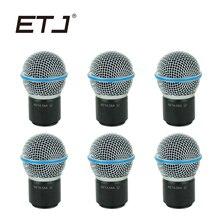 6 pçs/lote Beta58 Beta58A Core e Grade Acessórios de Microfone Sem Fio Para SLX24 PGX24 SLX2 PGX2 Frete grátis