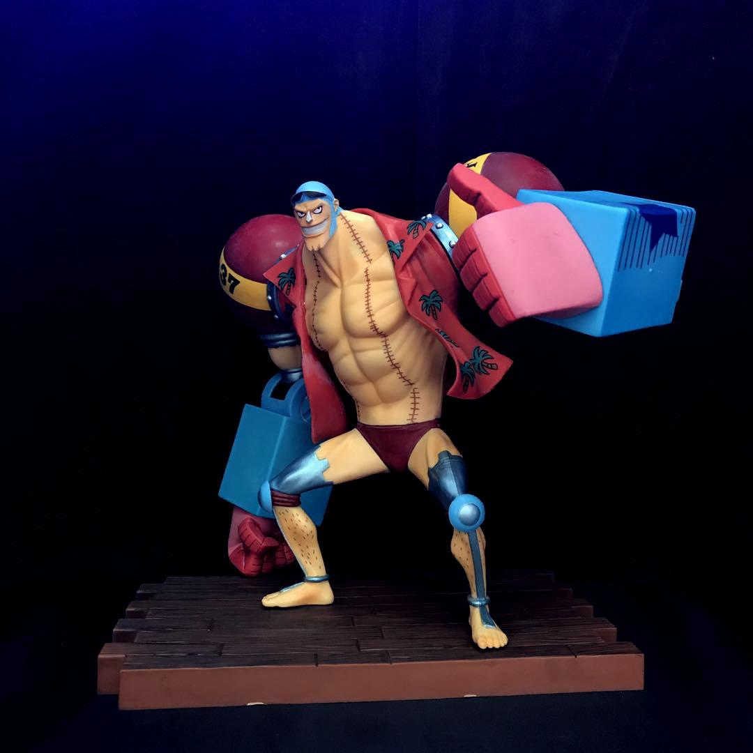 20cm japanese anime figure 2 year after franky action