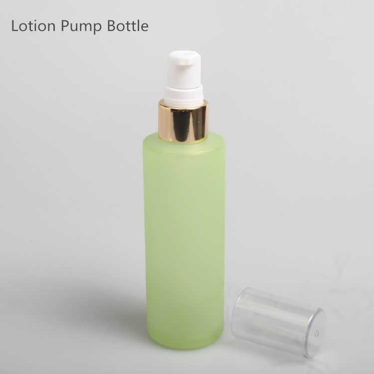 10 adet Yeşil Buzlu Cam Sprey Şişesi Losyon pompa şişesi Aromaterapi Parfüm Sprey Şişesi 20 ml 30 ml 40 ml 60 ml 80 ml 100 ml 120 ml