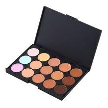 15 Color Foundation Make-up Concealers Palette