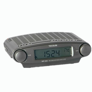Image 3 - Tecsun Radio MP 300 Dsp Fm Stereo Usb MP3 Player Desktop Klok Ats Alarm Black Fm Draagbare Radio Ontvanger Y4137A Tecsun MP300