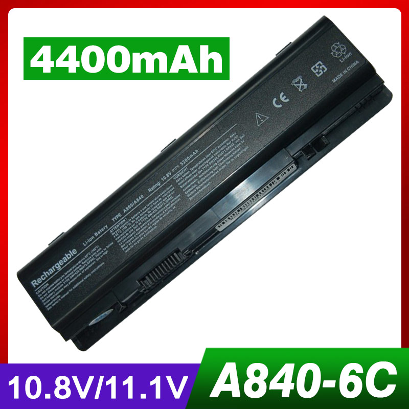 4400 mah batteria del computer portatile per dell Vostro 1014 1015 A840 A860 312-0818 451-10673 F286H F287F F287H g069H R988H4400 mah batteria del computer portatile per dell Vostro 1014 1015 A840 A860 312-0818 451-10673 F286H F287F F287H g069H R988H