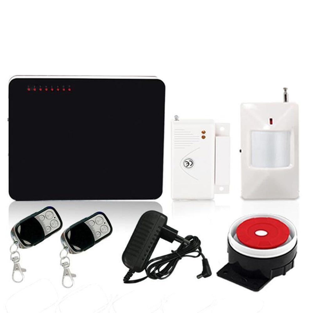office burglar intruder wireless gsm home alarm system kit passive intruder