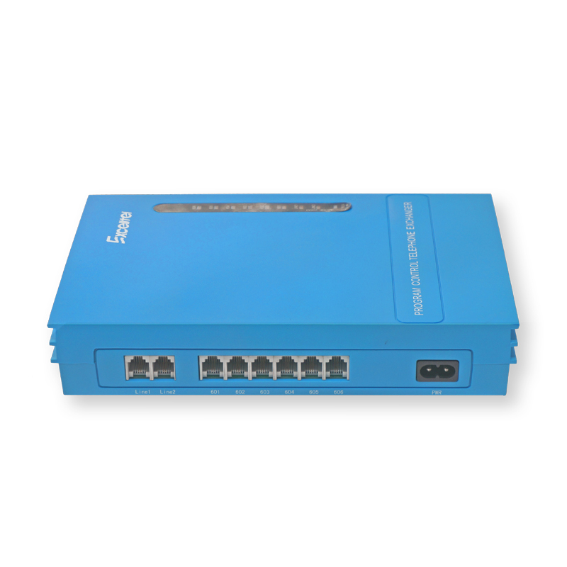 Excelltel/système téléphonique/Mini PABX MS206/2 PSTN ligne 6 extension/avec musique externe-directement usine