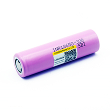 LiitoKala INR 18650 battery good quality 3.7V 3000mAh capacity Rechargeable INR18650 30Q li-ion Rechargeable Batteries все цены