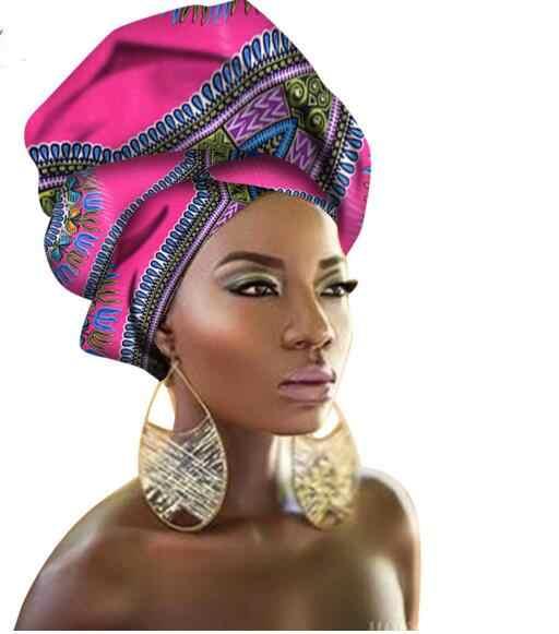 2020 Nieuwe Stijl Ontwerp Hoofddoek Lange Hoofd Sjaal Headcover Vrouwen Tulband Sjaal Warp Haar Afrikaanse Headwrap Q039 * Nieuw *