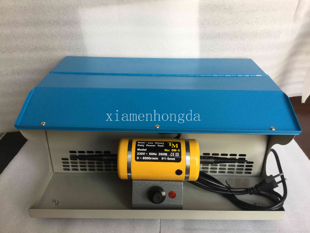 Goldsmith Polishing motor with Dust Collector,mini bench lathe,jewelry table polisher,jewelry polishing machine cc519 67909 c9937 68001 for hp scanjet 5590 m3027 m3035 adf pick up roller