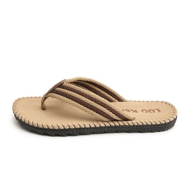 LAISUMK 4 ألوان صنادل شاطئ حذاء رجالي شبشب صيفي الوجه يتخبط الرجال الصنادل حجم كبير 45 Sandalias Hombre Chausson أوم 2
