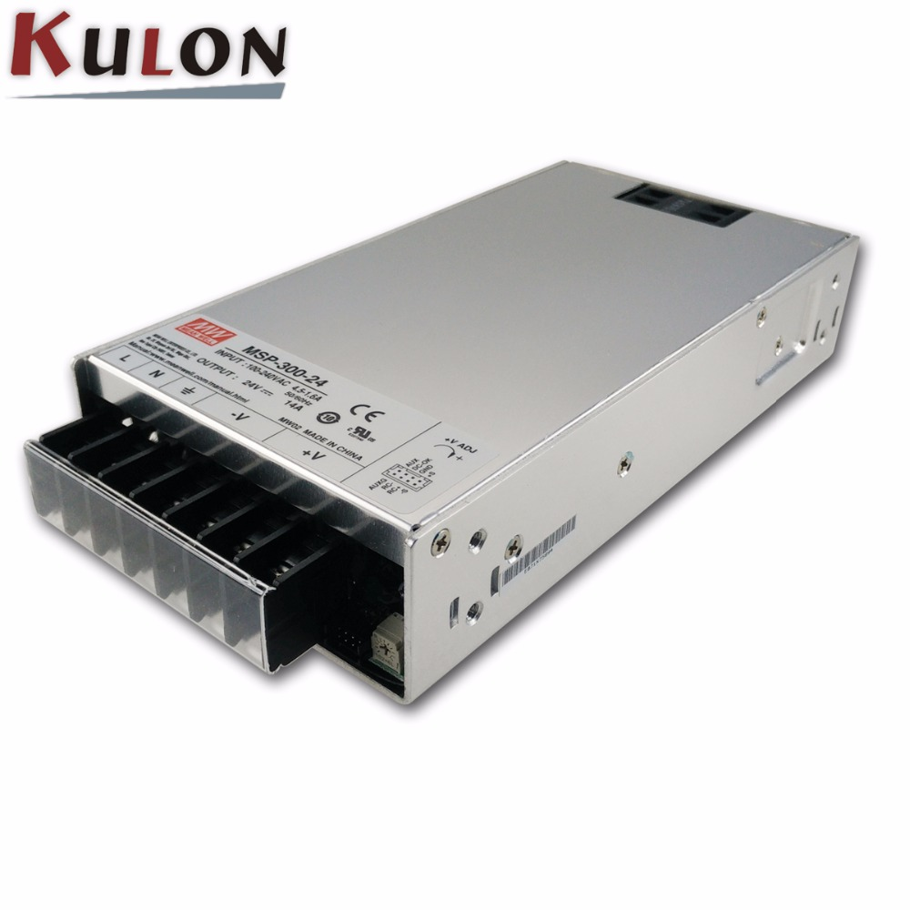 Meanwell MSP 600 600W 3.3V 5V 7.5V 12V 24V 36V 48V 13A 17.5A 27A 43A 53A 80A 120A Single Output Medical Type Power Supply