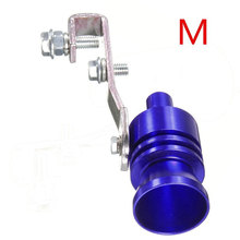 23MM Fashion Durable Sound Whistle Blowoff Simulator Automobile Car Decoration Pipe Whistle Best Gifts Exhaust Muffler