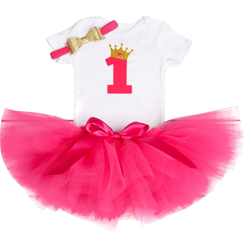 b1a890b4d53cd Hot Sale] My First Birthday Toddler Baby Girl Unicorn Dresses for ...
