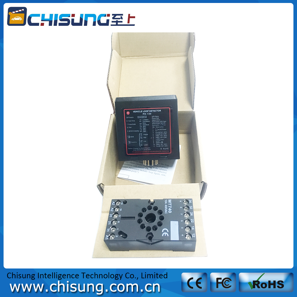 Single Channel Vehicle Loop Detector/Metal Detector For Public Access Control
