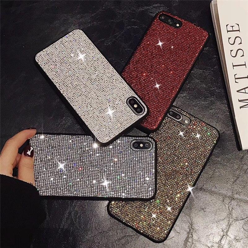 For Vivo Y71 Y83 Y85 Y79 Y97 Y81 Y81S Y93 Case Luxury Diamond glitter Bling Back Cover V11 Y91 X23 X9 X9S X20 X21i