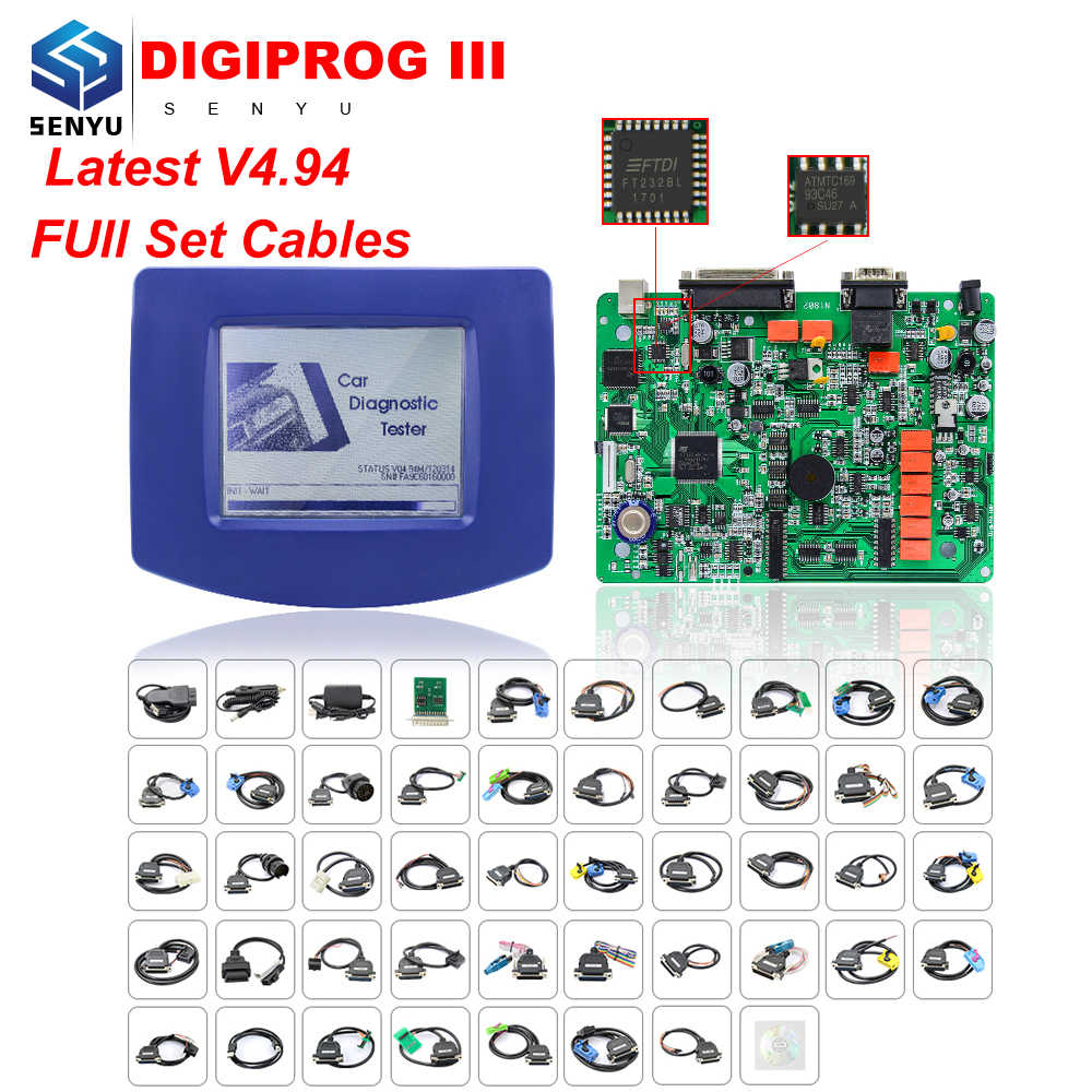 Detail Feedback Questions about Free DHL Digiprog III V4 94 Full set