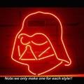 Nova de STAR WARS DARTH VADER Sinal de Néon Projeto Da Arte Decorar Neon Exposição Da Loja de lâmpadas Affiche VD Desenho Livre Neon Luz De Vidro 17x14