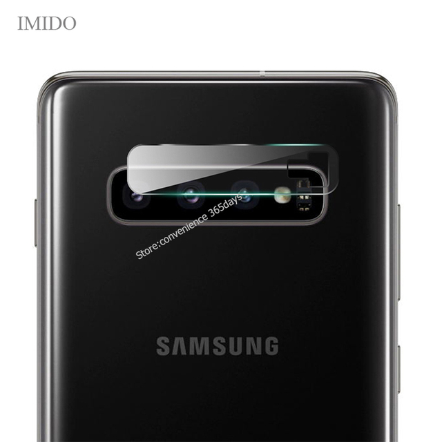 Lens Glass For Samsung Galaxy S10 Plus S10E S9 S8 Tempered Back Len Protector On Note 9 8 S 10 Plus S10Plus Camera Glass Film