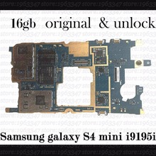 Original Unlocked For Samsung galaxy S4 mini i9195i motherboard ,100% working mainboard with software logic system board