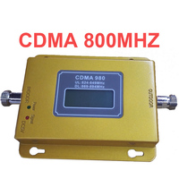 LCD Display Function 980 CDMA 800mhz High Gain CDMA 850Mhz Mobile Phone Signal Booster GSM Signal