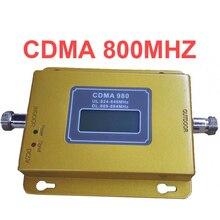 Função display LCD 980 CDMA 800 mhz de alto ganho CDMA 850 Mhz mobile phone signal booster, GSM repetidor de sinal amplificador cdma