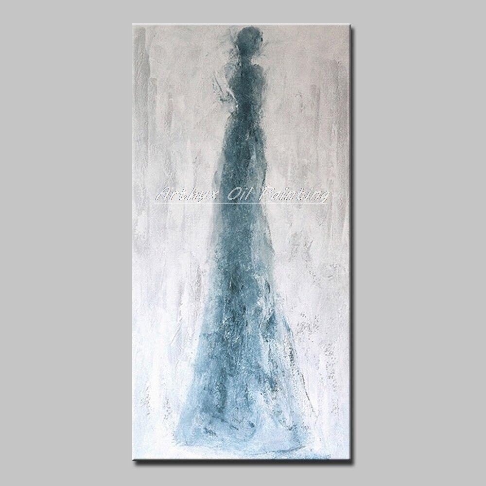 Arthyx-peinture à lhuile abstraite sur toile, tableau artistique moderne pour décoration de maison