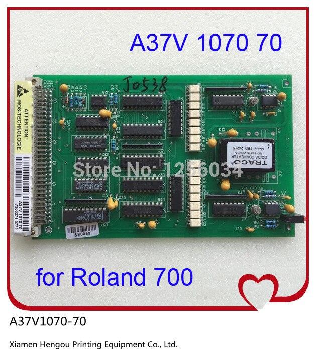 все цены на 1 piece Roland 700 D/A digital-analog converter board A37V1070 70 Roland 700 presses printing parts board онлайн