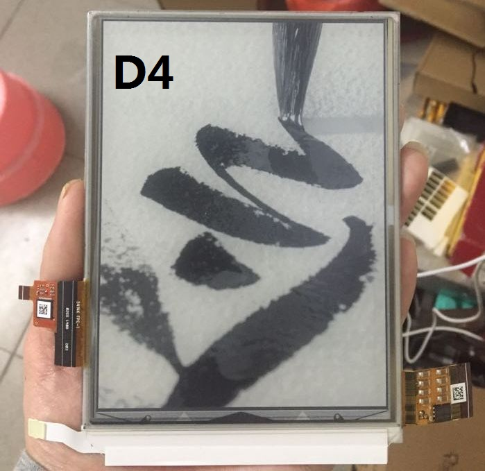 USED ED060XD4(LF)C1 ED060XD4(LF)T1-00 U2-00 For Ebook Eink Lcd Display Touch Screen digitize ed060xd4 6 inch eink 100