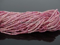 Grade AAA Brilliant Cut Shining Natural R uby Gems Stones 2mm Faceted Round Beads 15 Jewelry Making 2 Strands/Pack