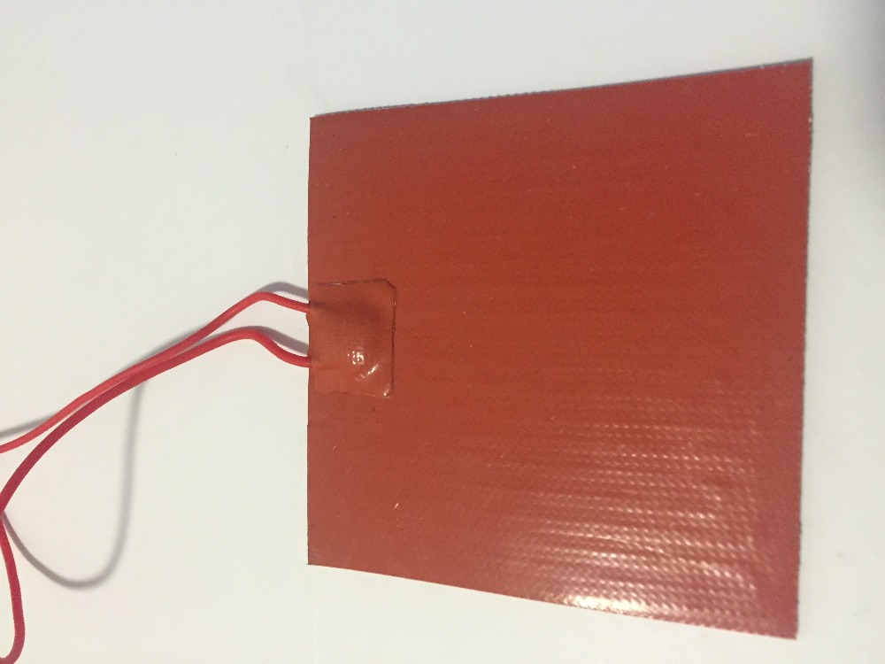 ФОТО Silicone heating pad heater 120V 600W 280mmx280mm 5A for 3d printer heat bed 1pcs