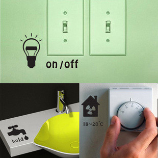 Wall stickers for energy saving tips furniture homes
