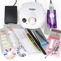 Nail Art Manicure Tools 30000RPM Electric Nail Drill Machine & Nail Art Tool Kits Sets without box
