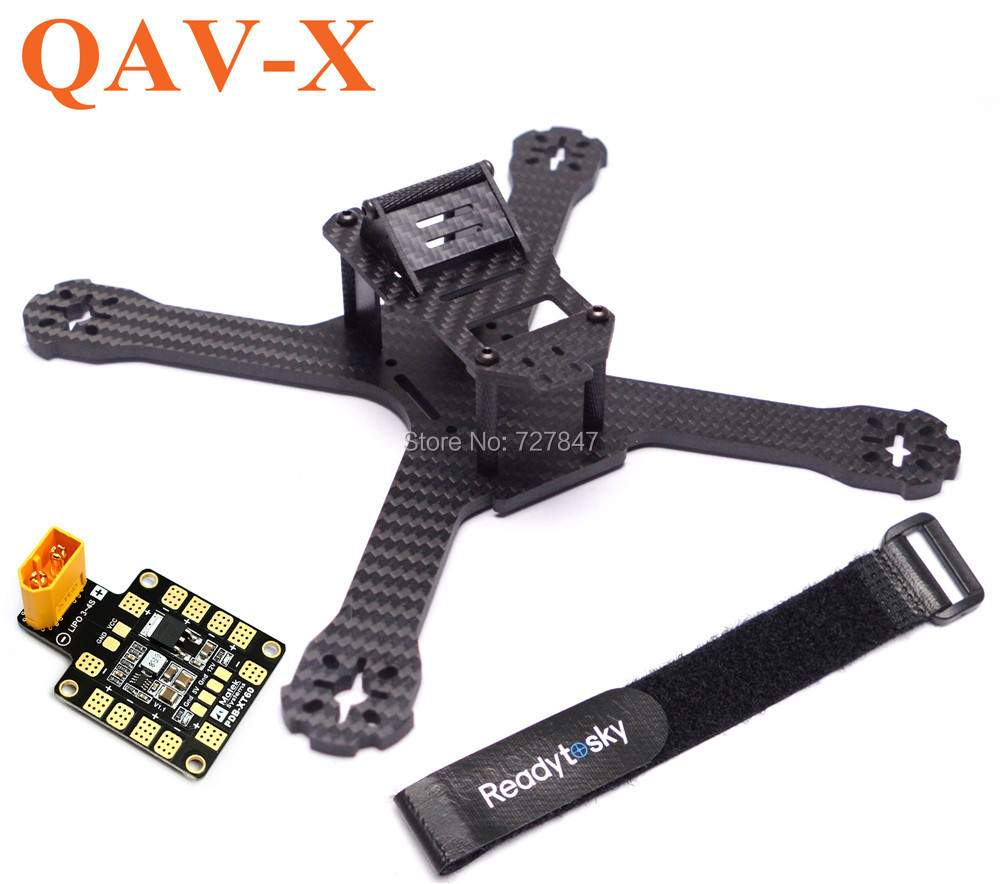 Newest DIY Mini Drone FPV QAV-X 214mm 214 / QAV-XS 222mm Cross Racing Quadcopter With  4mm Arms for QAV-X 210 Pure Carbon Fiber diy fpv mini drone qav210 zmr210 race quadcopter full carbon frame kit naze32 emax 2204ii kv2300 motor bl12a esc run with 4s