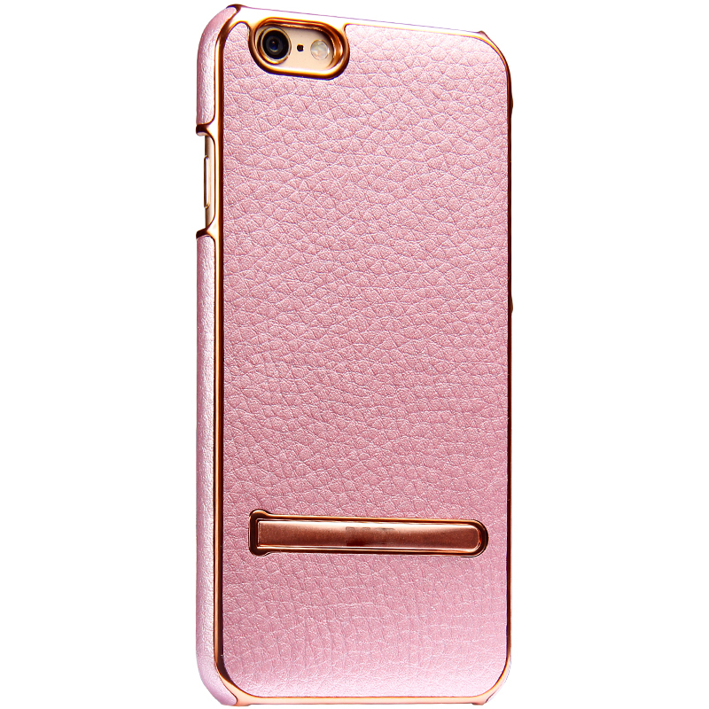 Suntaiho for iPhone 6 6SPlus Kobe Luxury Fashion PU Leather Stand Holder CaseSeries Soft Microfiber line cover Phone Cases