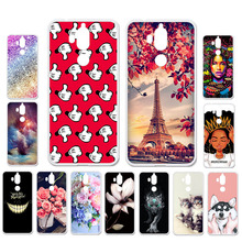 Ojeleye DIY Patterned Silicon Case For TP-LINK Neffos X9 Case Soft TPU Cartoon Phone Cover For TP-LINK X9 Cover Anti-knock Shell bolomboy painted case for tp link neffos x9 case silicone soft tpu cases for tp link neffos x9 cover wildflowers animal bags%3