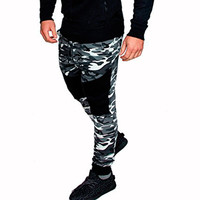 2018 New Men's Muscle Bodybuilding Pants Casual Men's Camouflage Fitness Sweatpants Men Cargo Trousers Camo Joggers Spring Fall