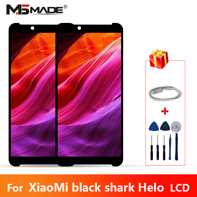 6.01 Original AMOLED LCDs For Xiaomi Black Shark Helo LCD Display Sreen Touch Digitizer Replacement Assembly Parts Free Tools6.01 Original AMOLED LCDs For Xiaomi Black Shark Helo LCD Display Sreen Touch Digitizer Replacement Assembly Parts Free Tools
