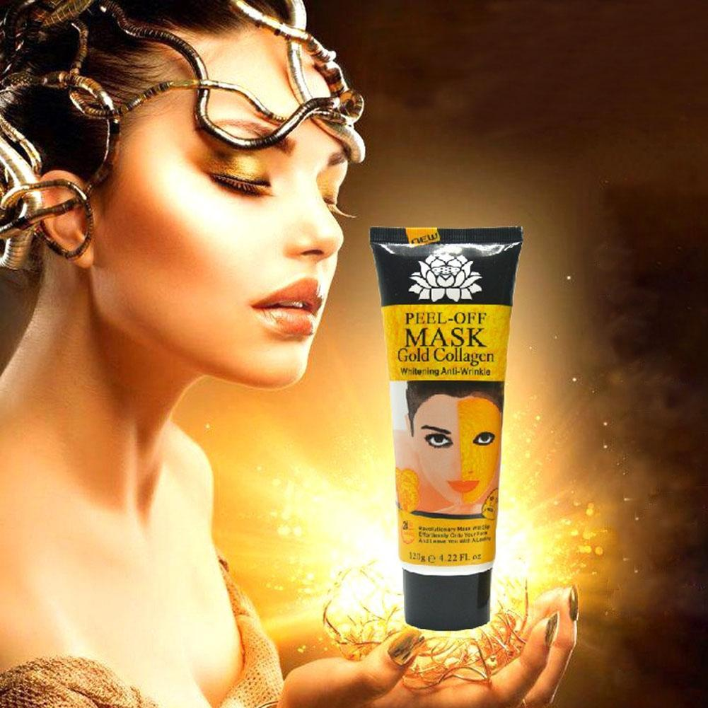 24K Golden Mask 120ML Anti Wrinkle Anti Aging Facial Mask Face Care Whitening Face Masks Skin Care Face Lifting Firming Mask