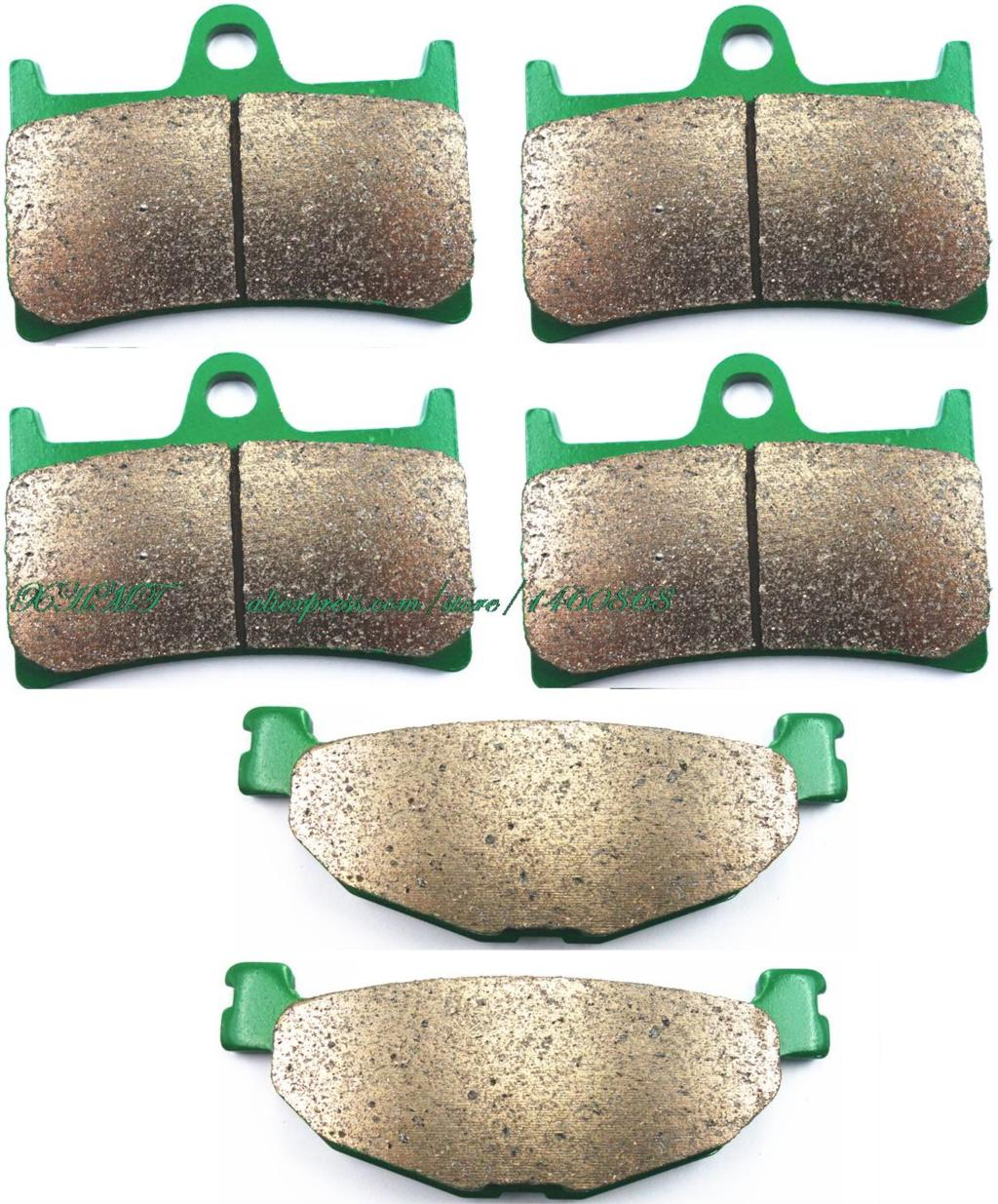 Brake Pads Set For Yamaha Xp500 Tmax500 T-Max500 Xp 500 T Max T-Max Tmax 2008 2009 2010 2011 / Sv (Tech Max) Abs&Noabs 2011 & Up