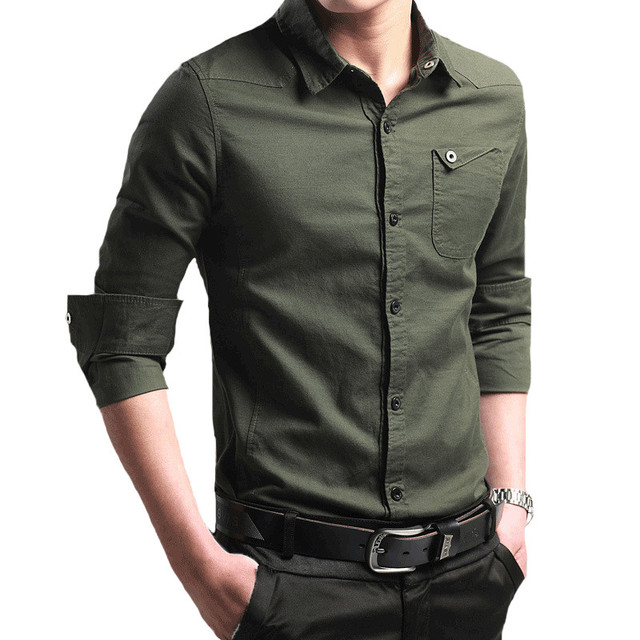 Tactical Shirts Mens Work Clothes Cargo Army Military Tops Shirts