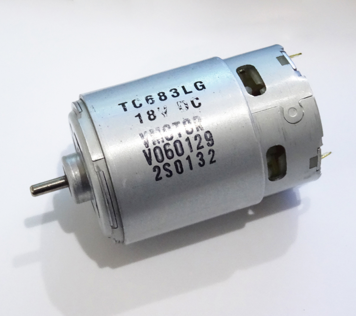 New Johnson <font><b>Motor</b></font> <font><b>550</b></font> <font><b>motor</b></font> <font><b>12v</b></font> 18V 19000RPM High speed <font><b>motor</b></font> for Bosch Weir Makita Wicks image