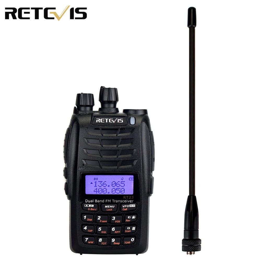 Retevis RT23 Walkie Talkie Cross-Band Repeater UHF+VHF 136-174+400-480Mhz Dual PTT Dual Receive 1750Hz 1600mAh Ham Radio A9122ARetevis RT23 Walkie Talkie Cross-Band Repeater UHF+VHF 136-174+400-480Mhz Dual PTT Dual Receive 1750Hz 1600mAh Ham Radio A9122A