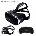 VR Shinecon 2.0 3D Virtual Reality Glasses 41mm Lenses Google Cardboard Smartphone Helmet for 4.7-6' with Original Remote
