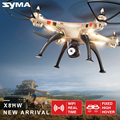 Syma x8hw fpv zangão rc com câmera hd wi-fi real-tempo de compartilhar 2.4g 4ch 6-axis quadcopter com pairando função nova chegada